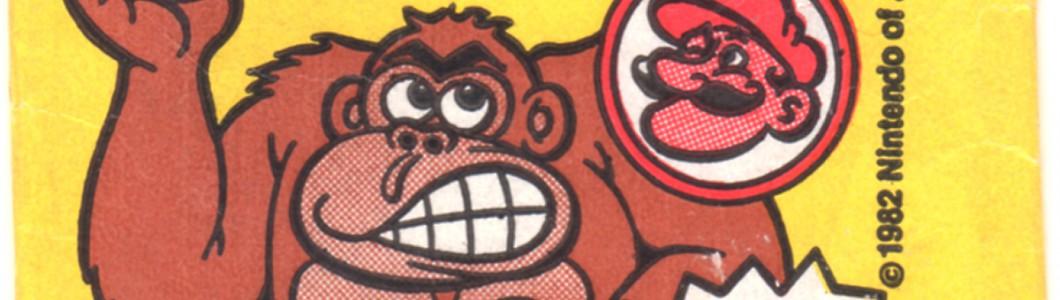 任天堂「ドンキーコング」トレーディングカード